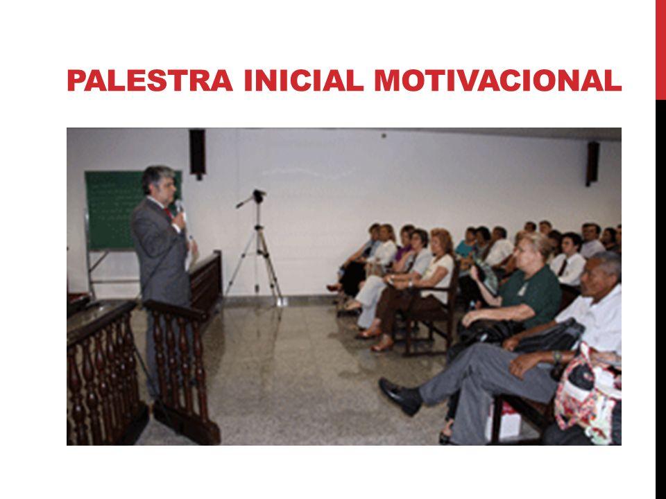 PALESTRA INICIAL MOTIVACIONAL