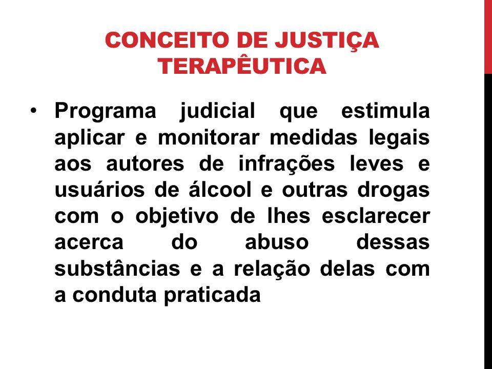CONCEITO DE JUSTIÇA TERAPÊUTICA