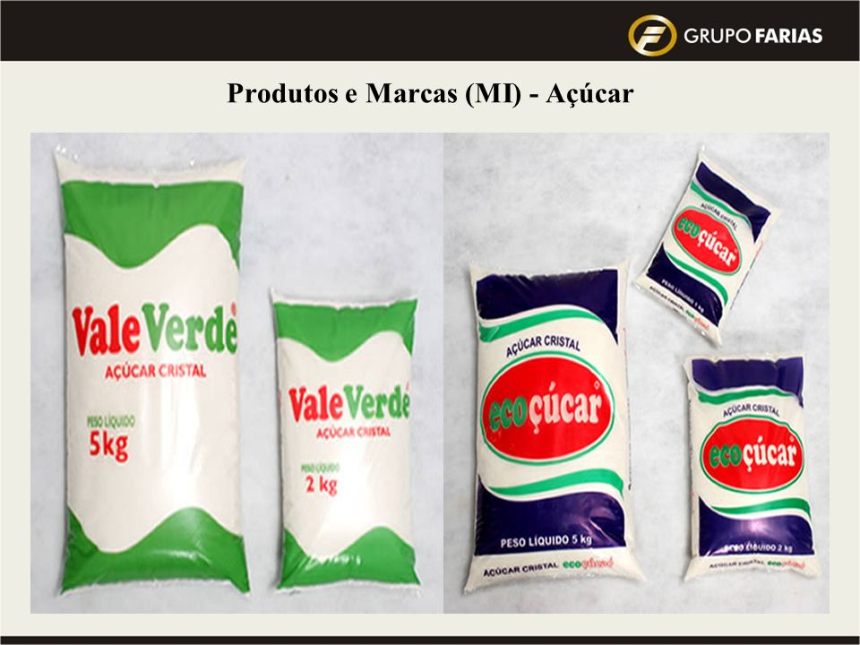 Produtos e Marcas (MI) - Açúcar