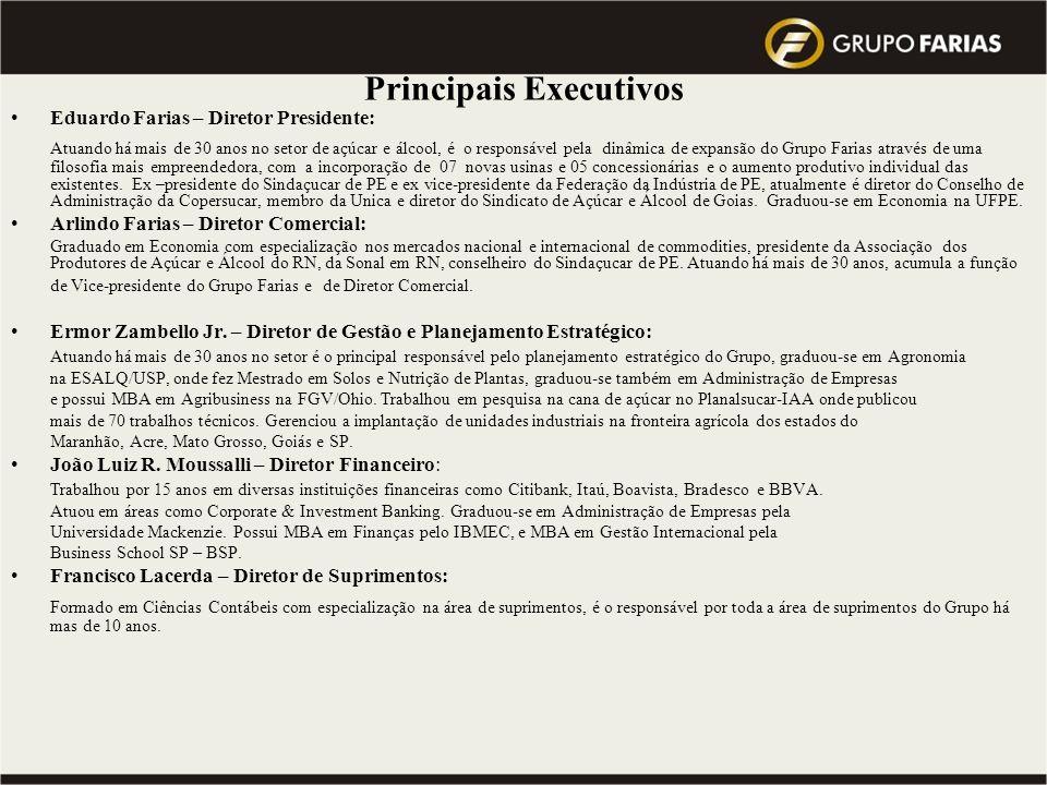 Principais Executivos