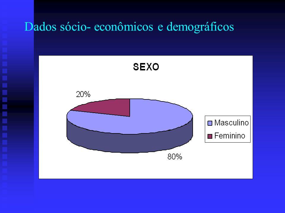 Dados sócio- econômicos e demográficos