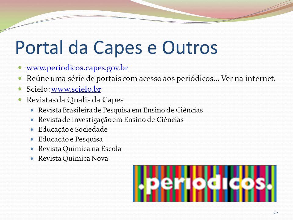 Portal da Capes e Outros