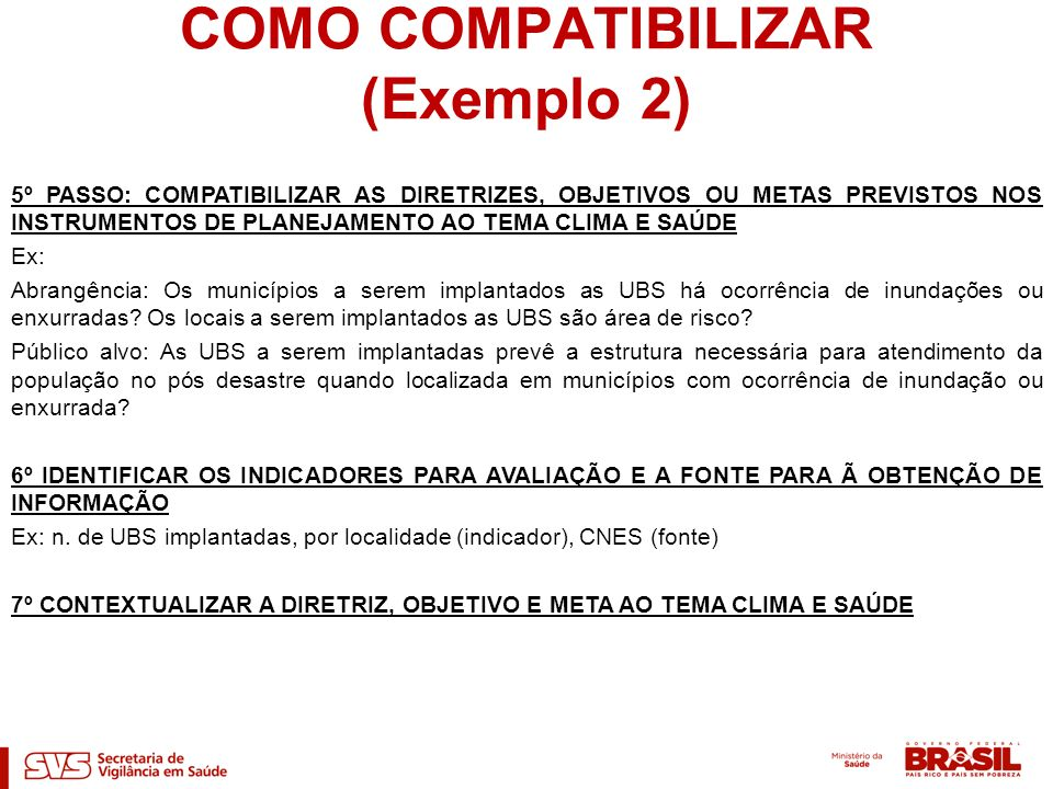 COMO COMPATIBILIZAR (Exemplo 2)