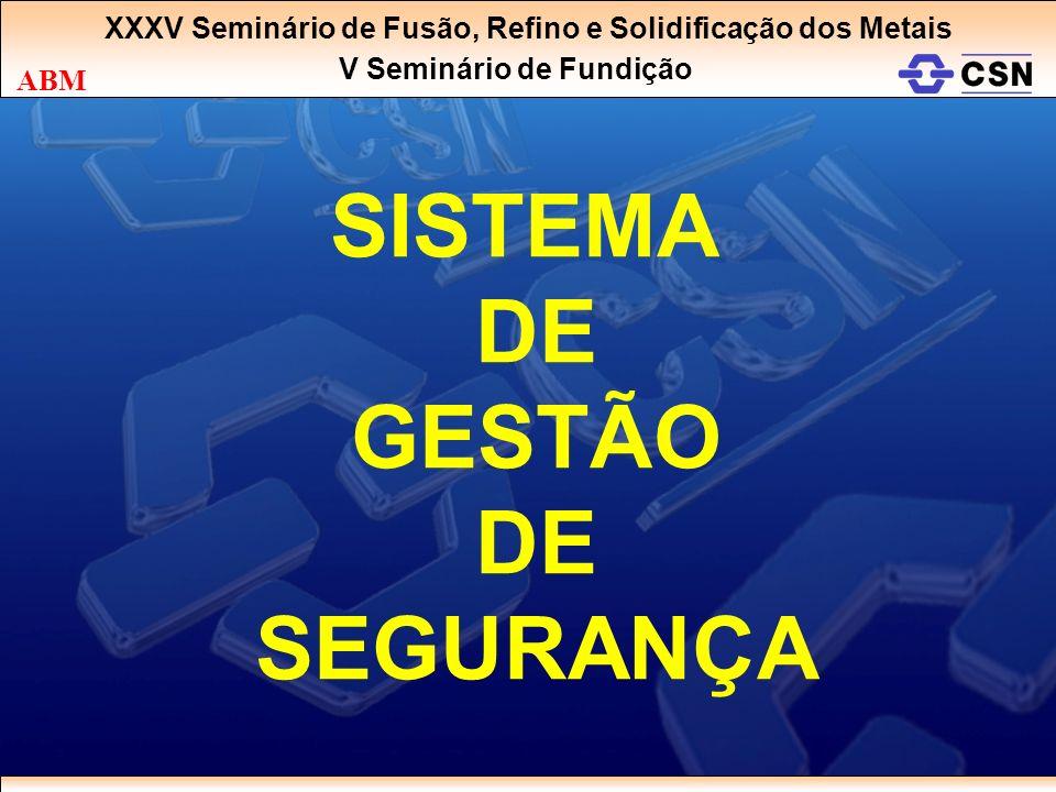 SISTEMA DE GESTÃO SEGURANÇA