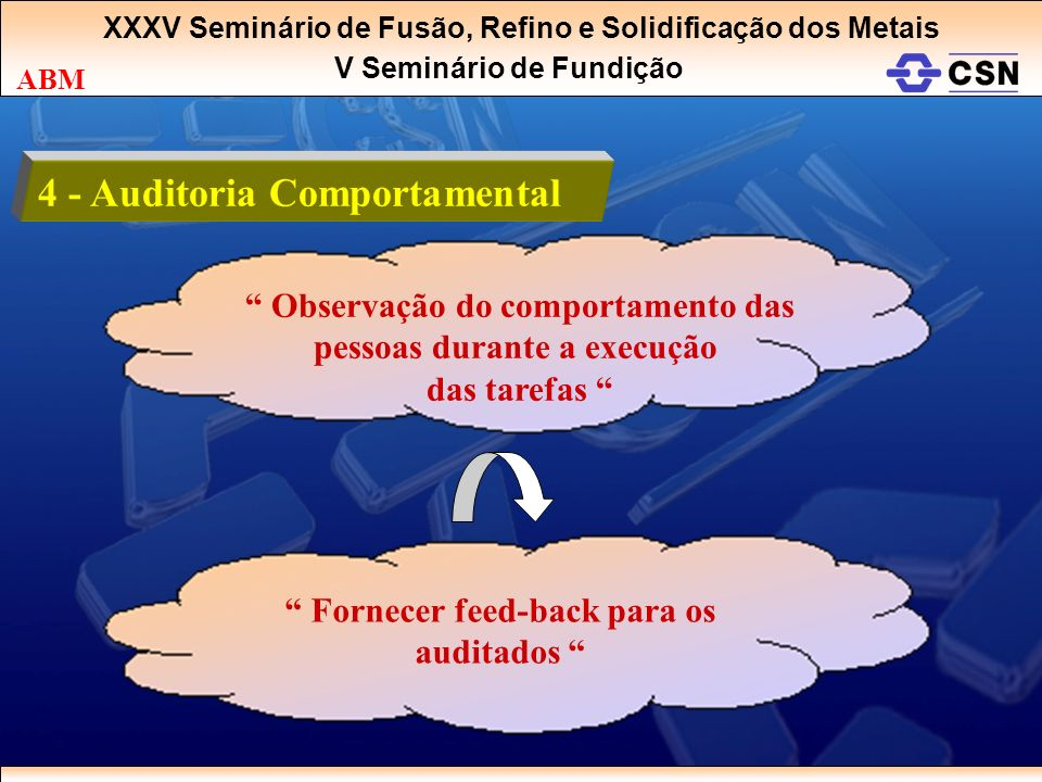 4 - Auditoria Comportamental