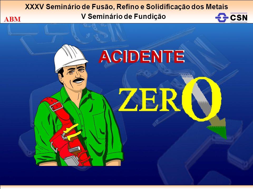 ACIDENTE XXXV Seminário de Fusão, Refino e Solidificação dos Metais