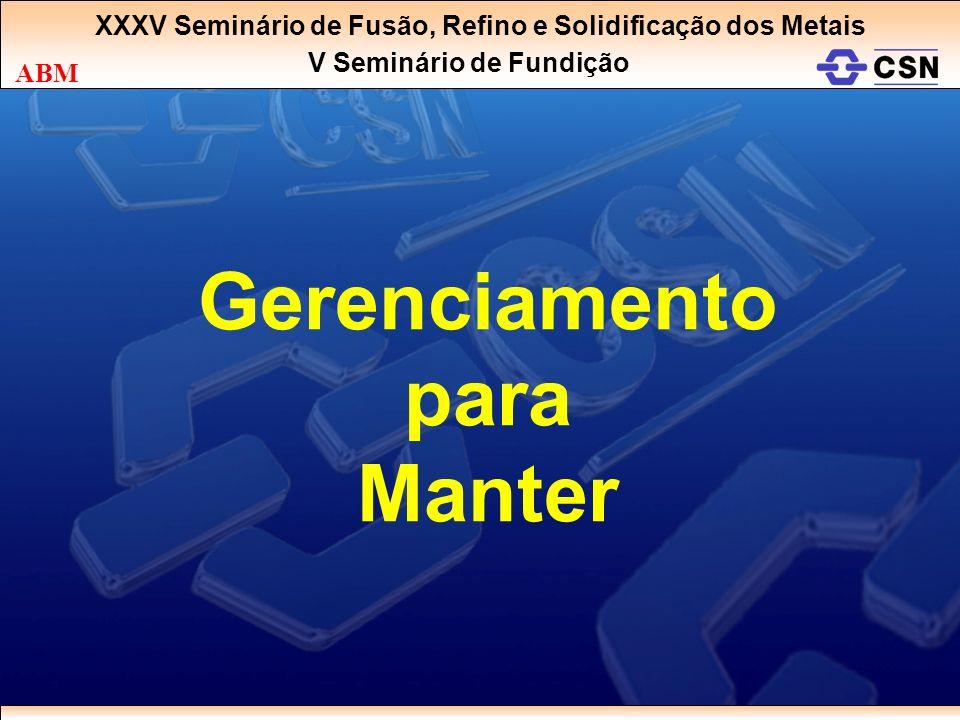 Gerenciamento para Manter