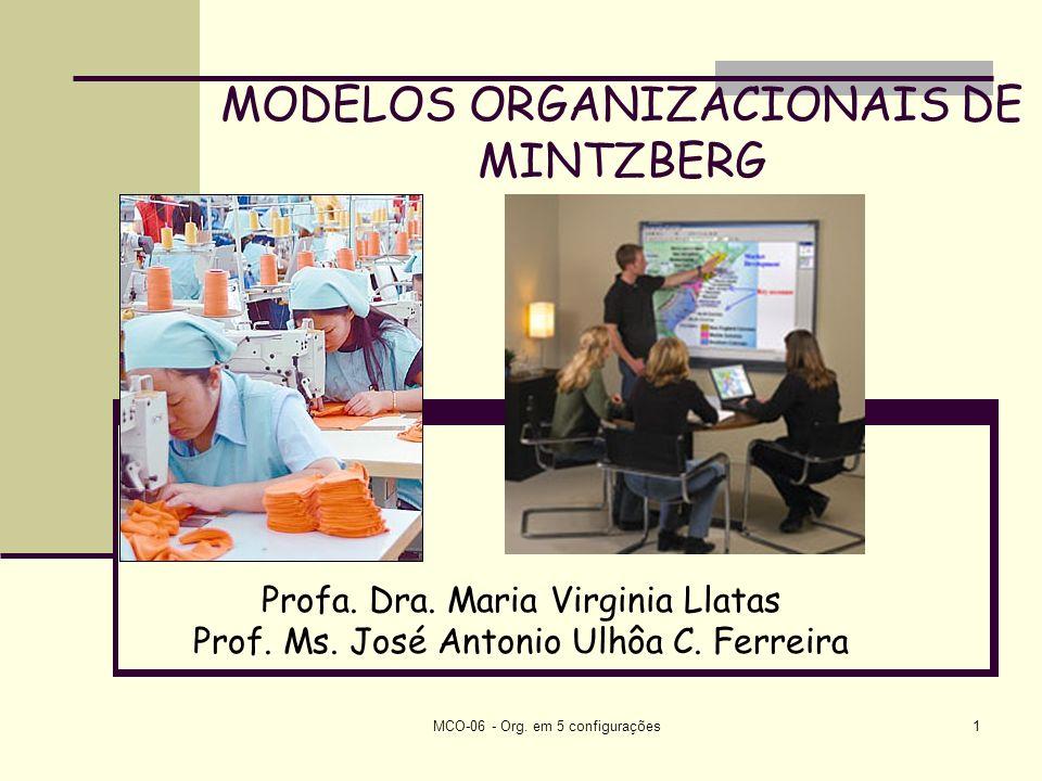 MODELOS ORGANIZACIONAIS DE MINTZBERG