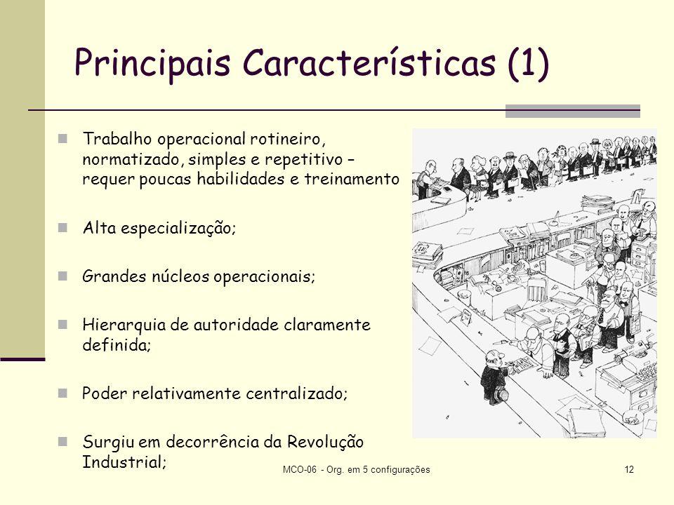 Principais Características (1)
