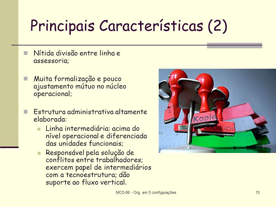 Principais Características (2)