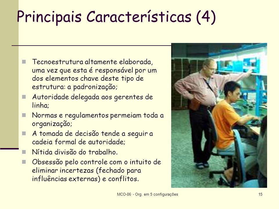 Principais Características (4)