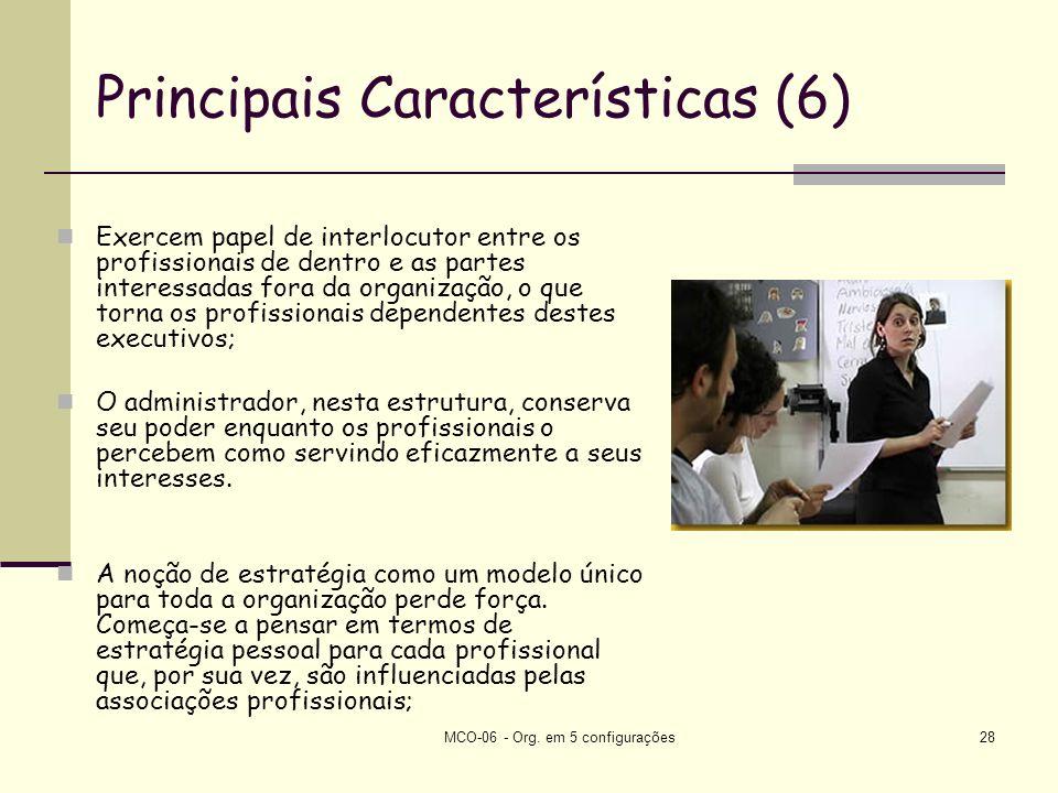 Principais Características (6)
