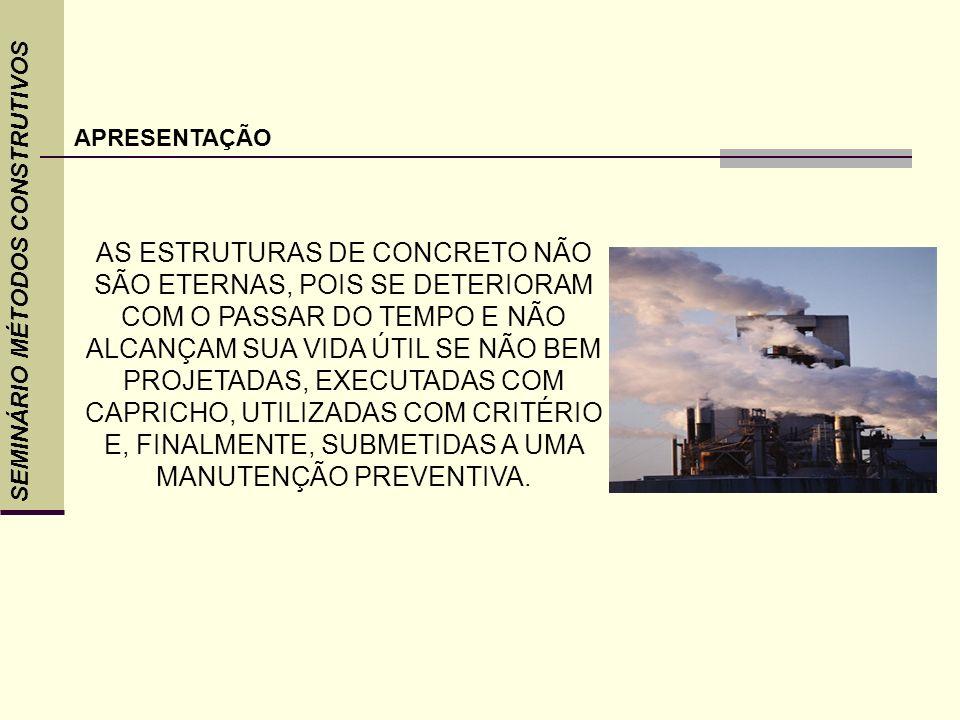 APRESENTAÇÃOSEMINÁRIO MÉTODOS CONSTRUTIVOS.