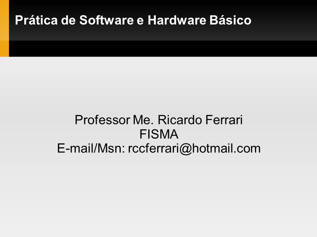 Prática de Software e Hardware Básico
