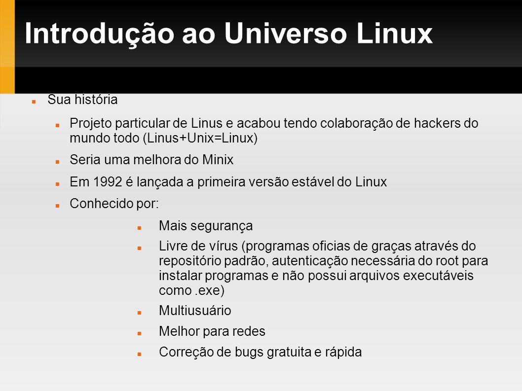 Introdução ao Universo Linux
