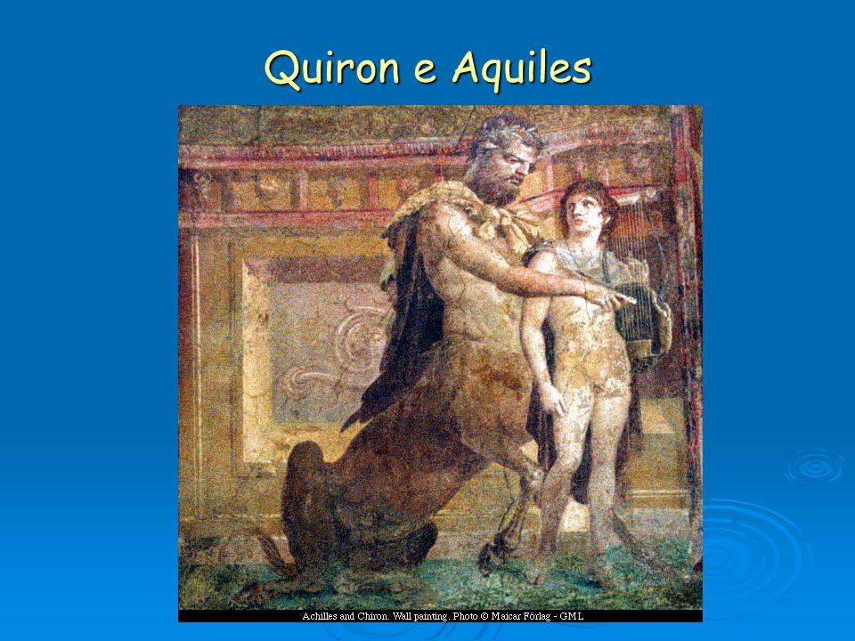 Quiron e Aquiles