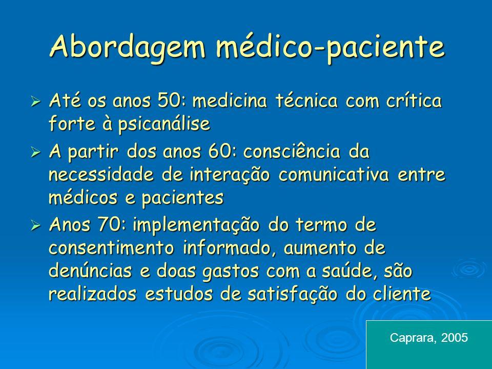 Abordagem médico-paciente
