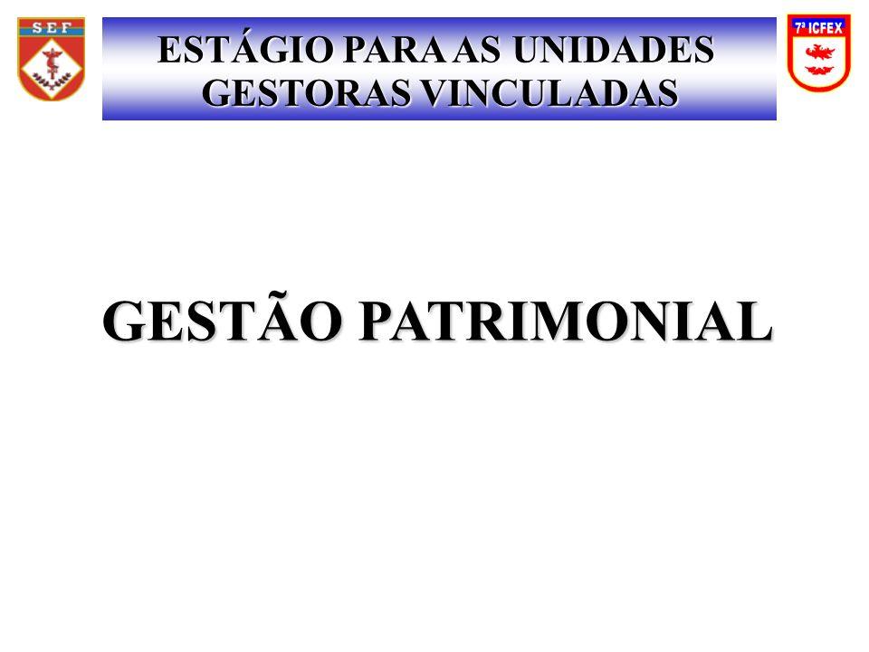 ESTÁGIO PARA AS UNIDADES