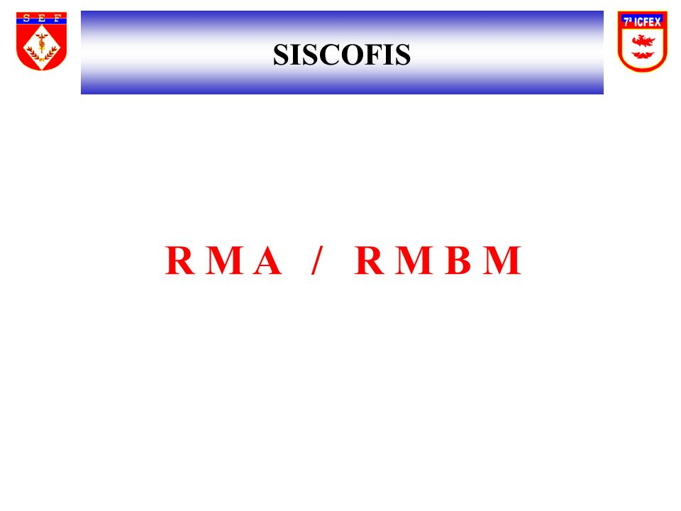 SISCOFIS R M A / R M B M 72 72 72 72