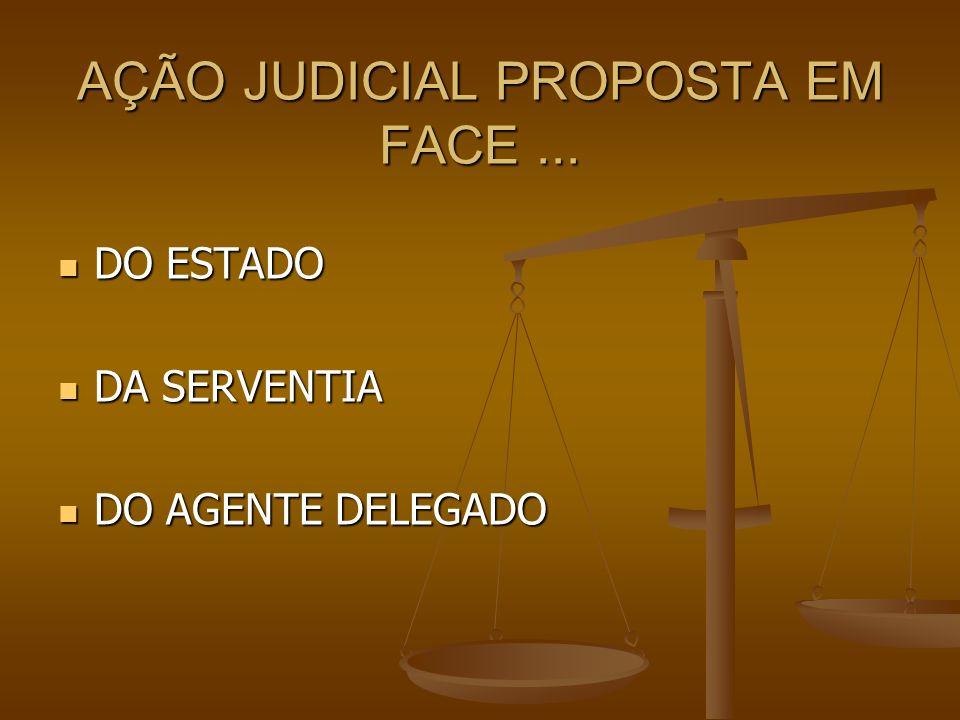 AÇÃO JUDICIAL PROPOSTA EM FACE ...