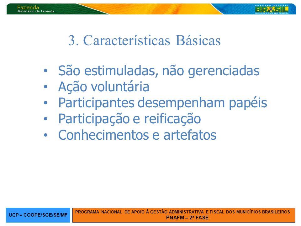 3. Características Básicas