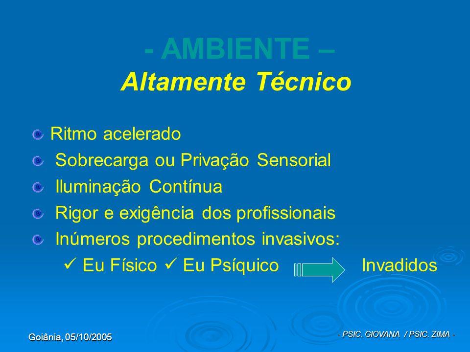 - AMBIENTE – Altamente Técnico
