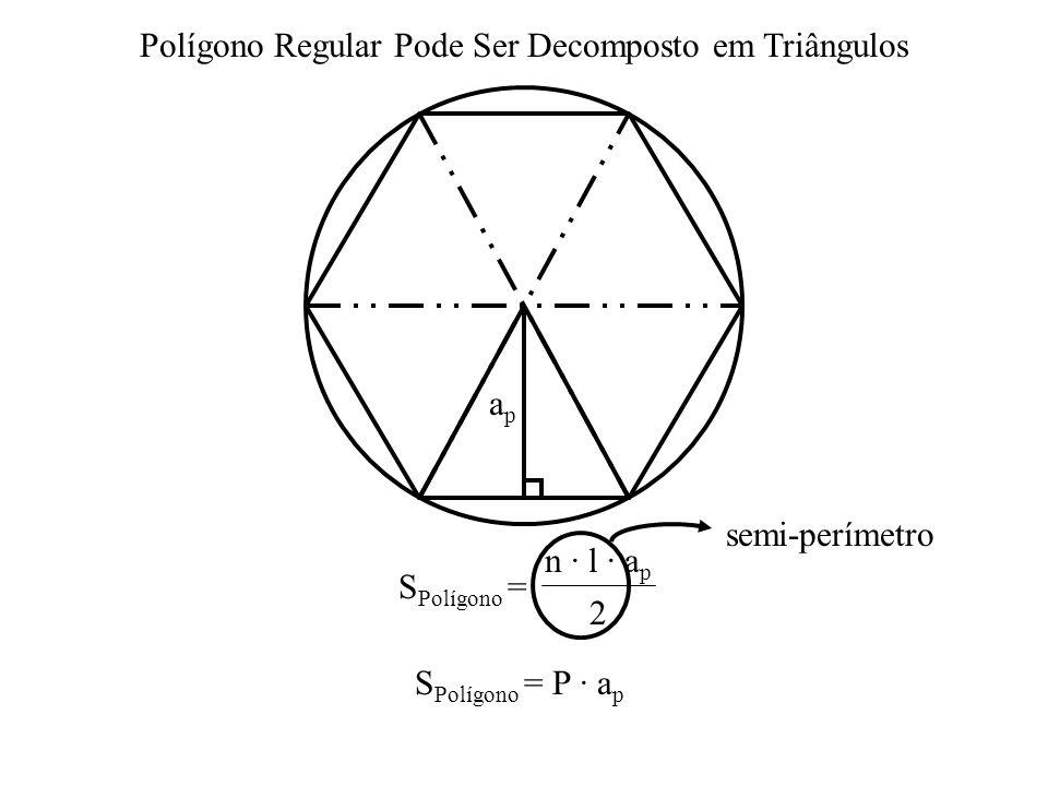 Polígono Regular Pode Ser Decomposto em Triângulos