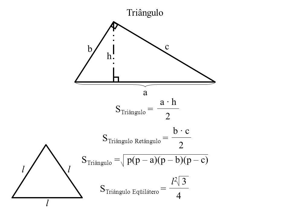 STriângulo Retângulo = b · c