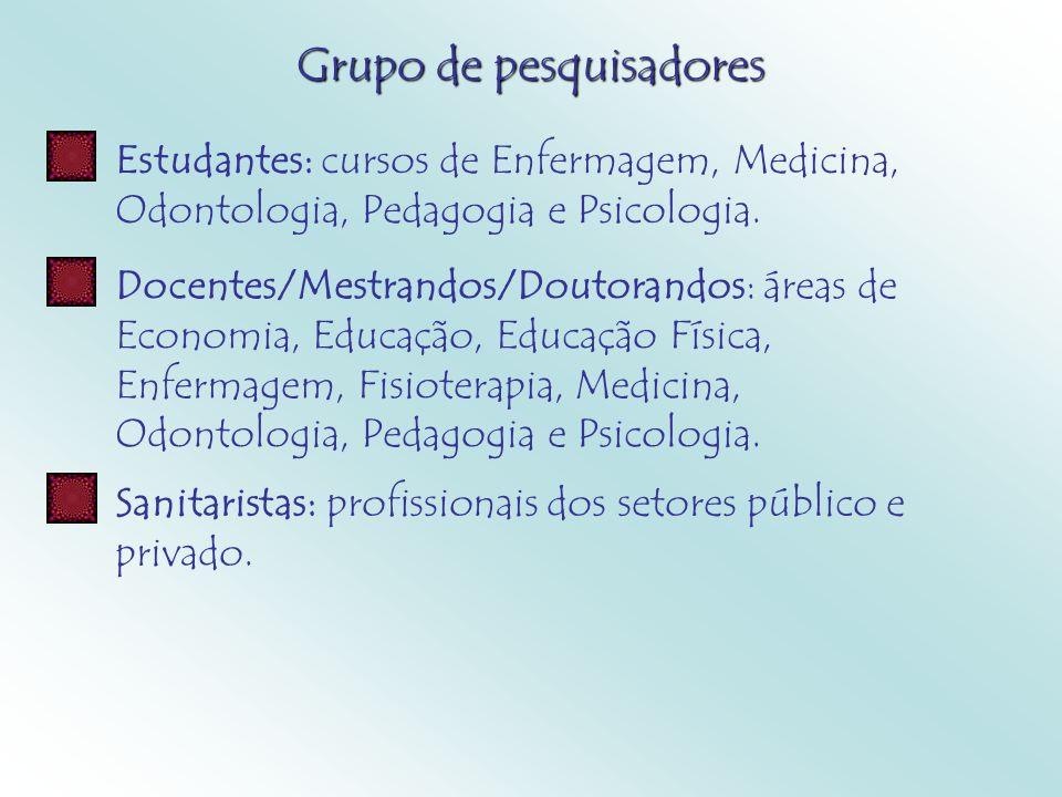 Grupo de pesquisadores