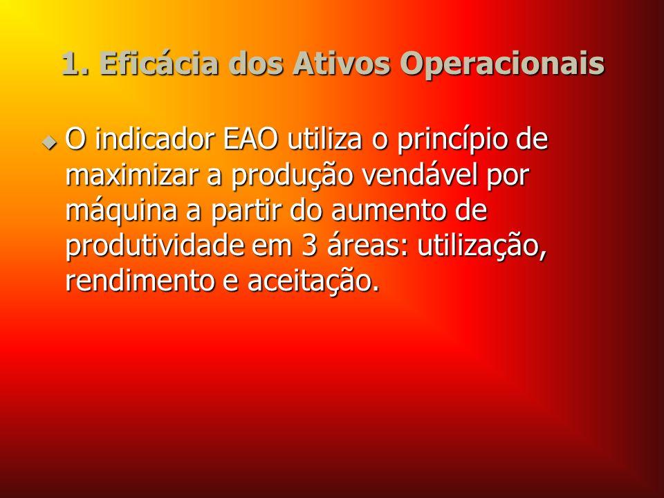 1. Eficácia dos Ativos Operacionais