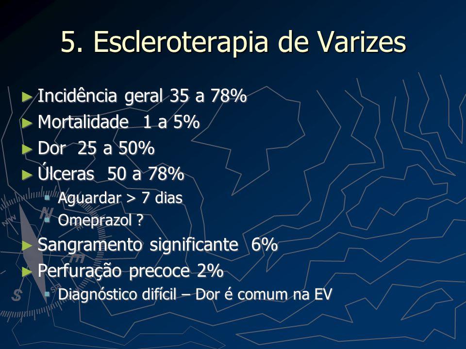 5. Escleroterapia de Varizes