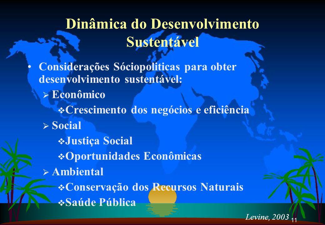 Dinâmica do Desenvolvimento Sustentável