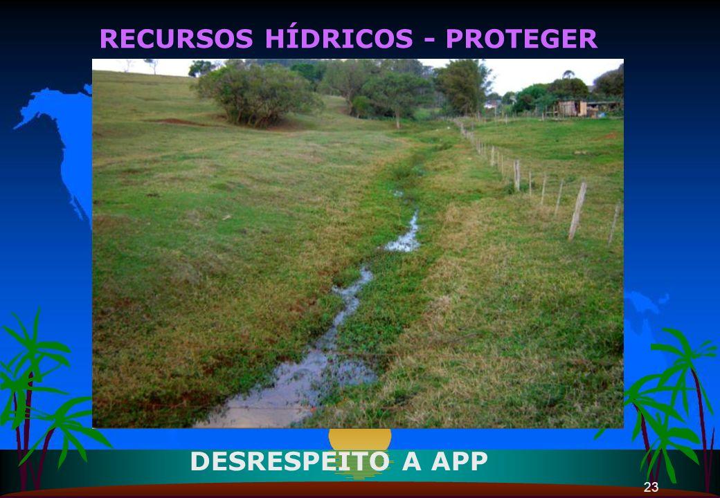 RECURSOS HÍDRICOS - PROTEGER