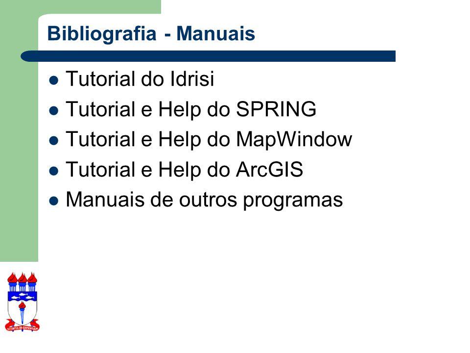 Bibliografia - Manuais