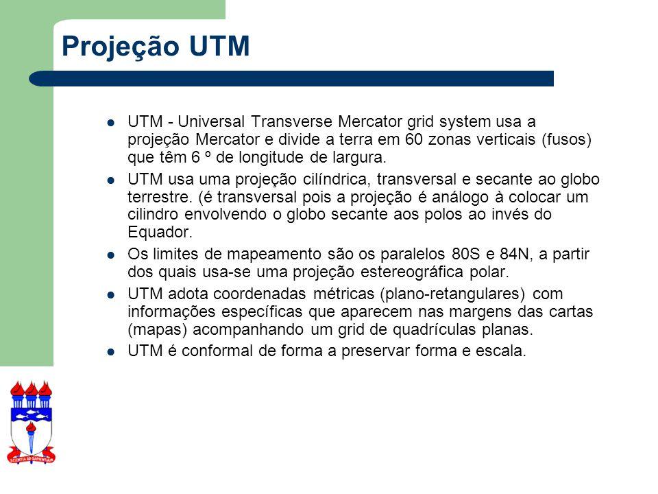 Projeção UTM