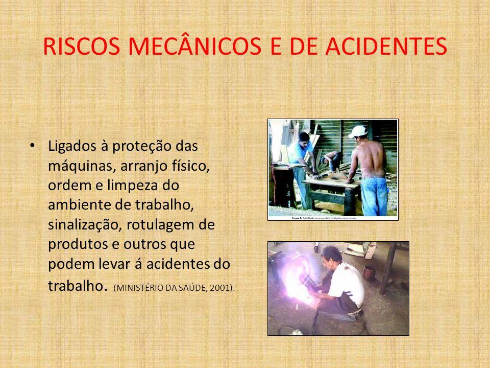RISCOS MECÂNICOS E DE ACIDENTES