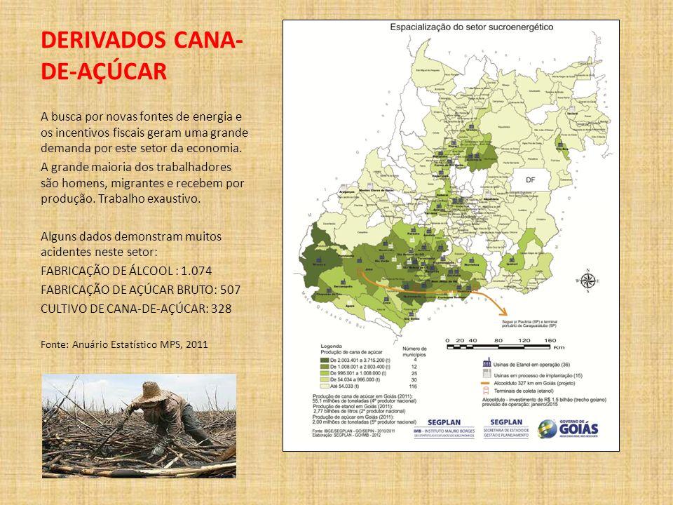 DERIVADOS CANA-DE-AÇÚCAR