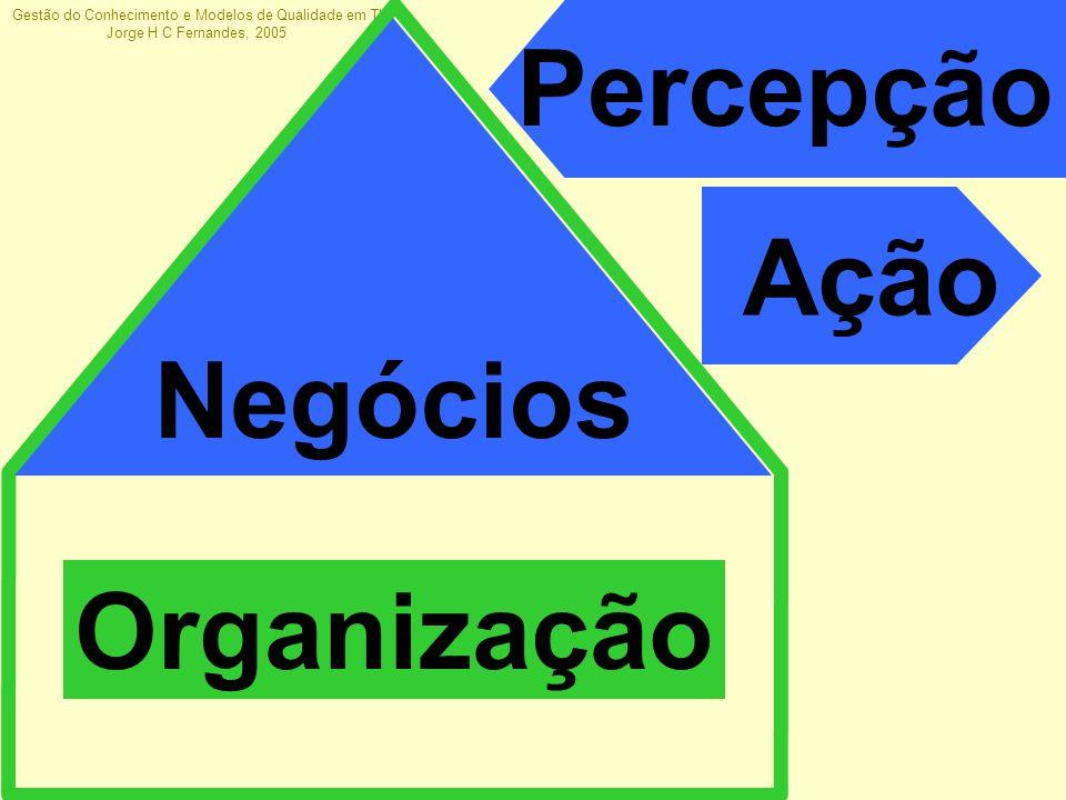 Organização Percepção Ação Negócios