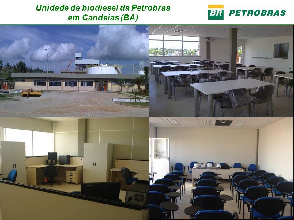 Unidade de biodiesel da Petrobras