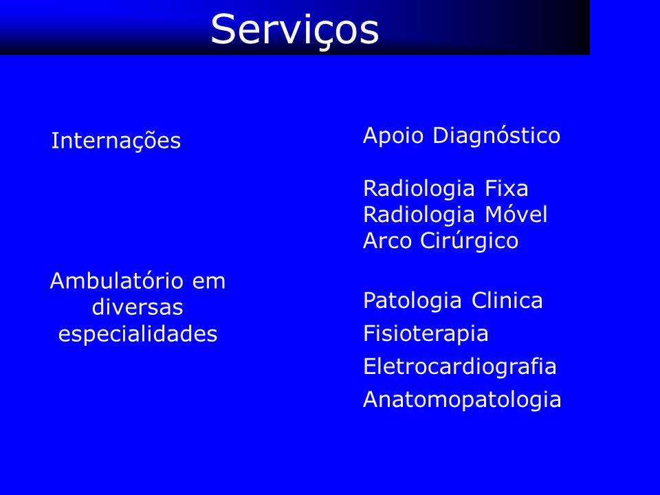Ambulatório em diversas especialidades