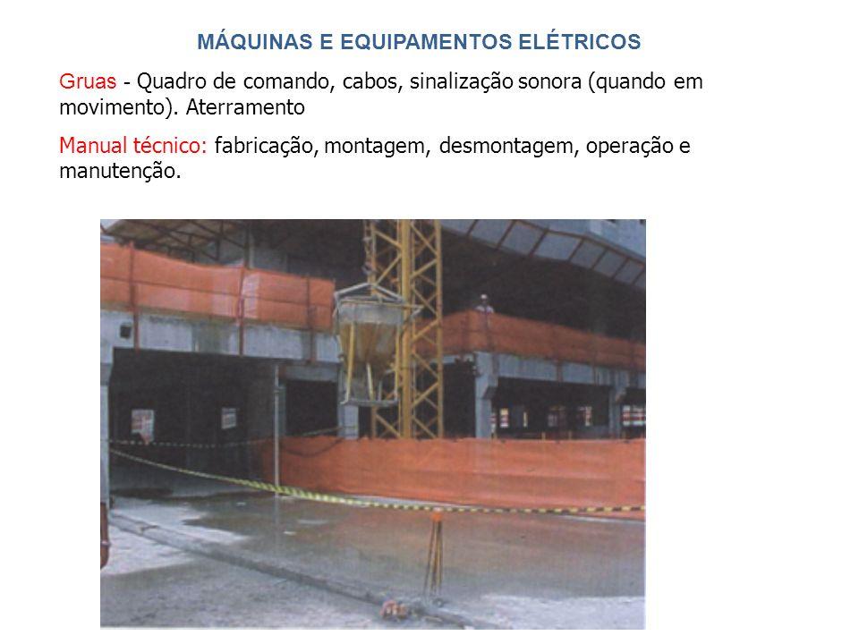 MÁQUINAS E EQUIPAMENTOS ELÉTRICOS