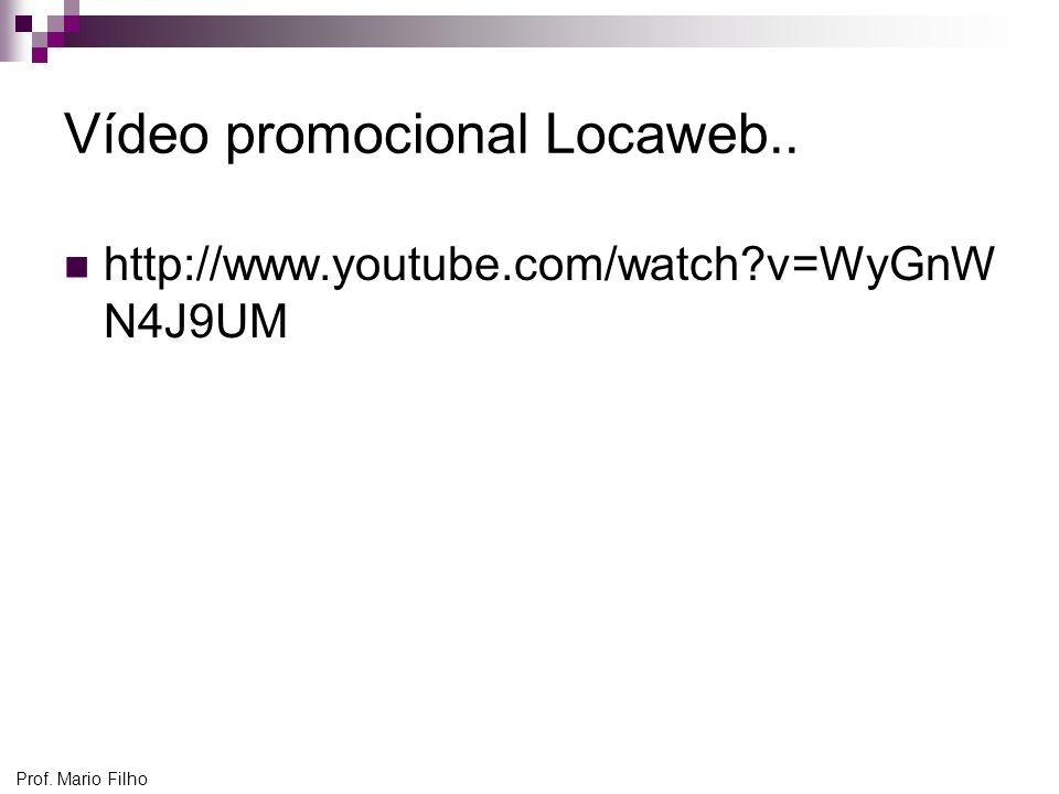 Vídeo promocional Locaweb..