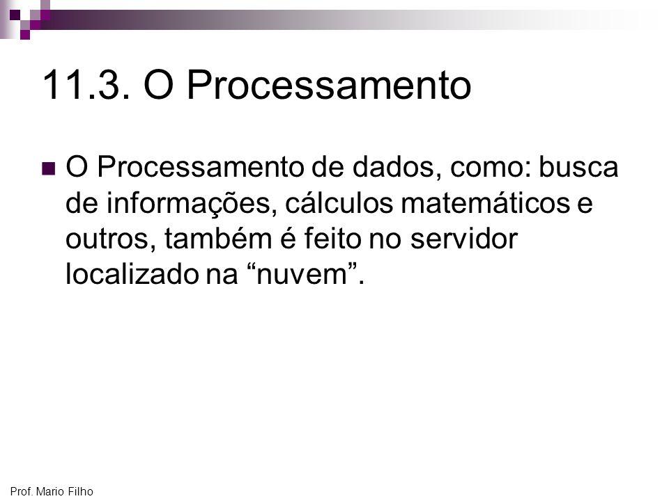 11.3. O Processamento