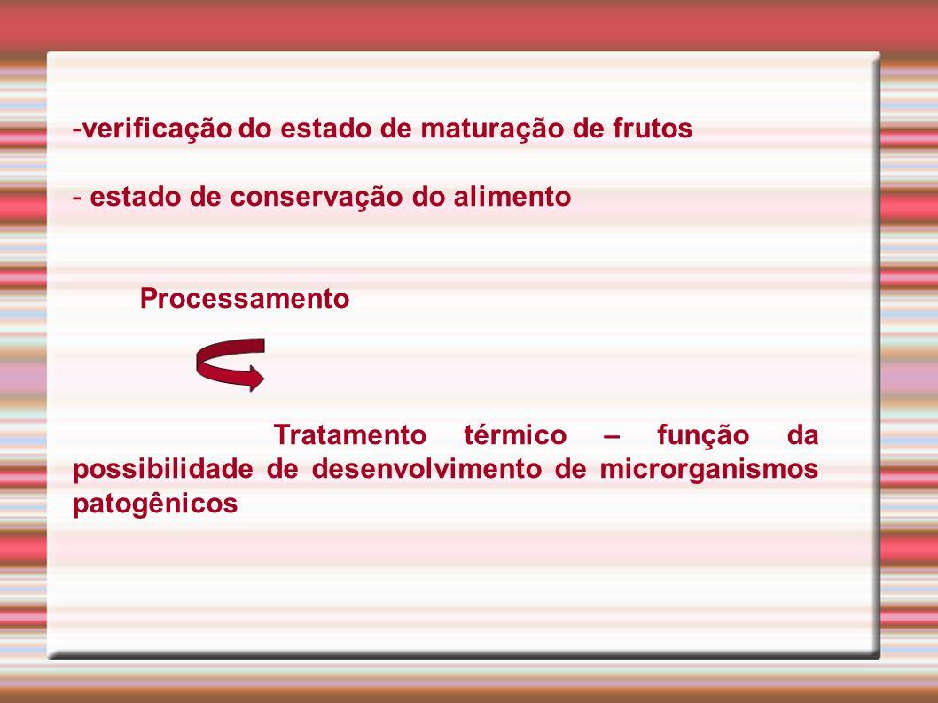 verificação do estado de maturação de frutos