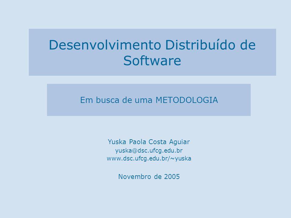 Desenvolvimento Distribuído de Software