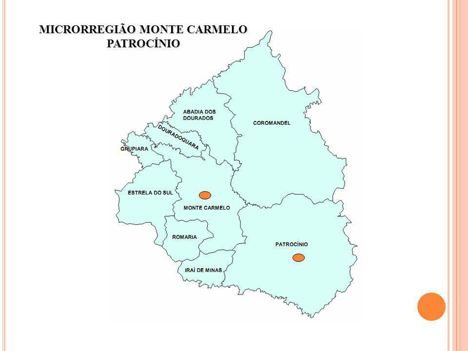 MICRORREGIÃO MONTE CARMELO