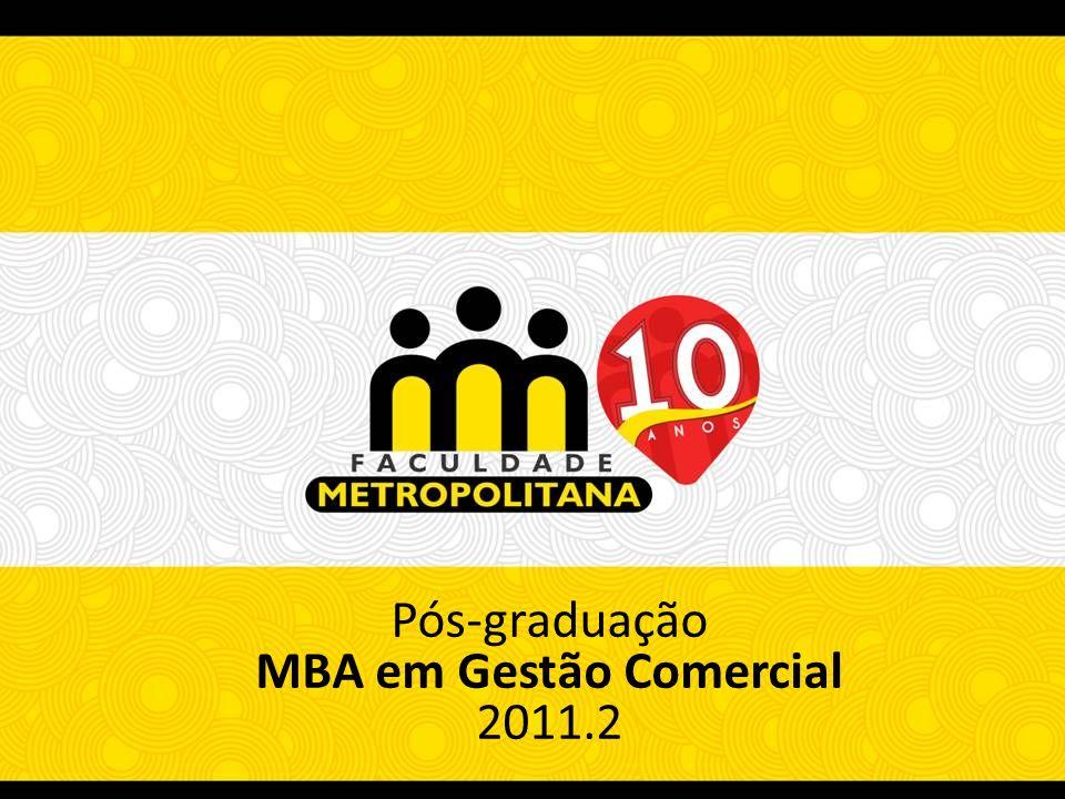 MBA em Gestão Comercial