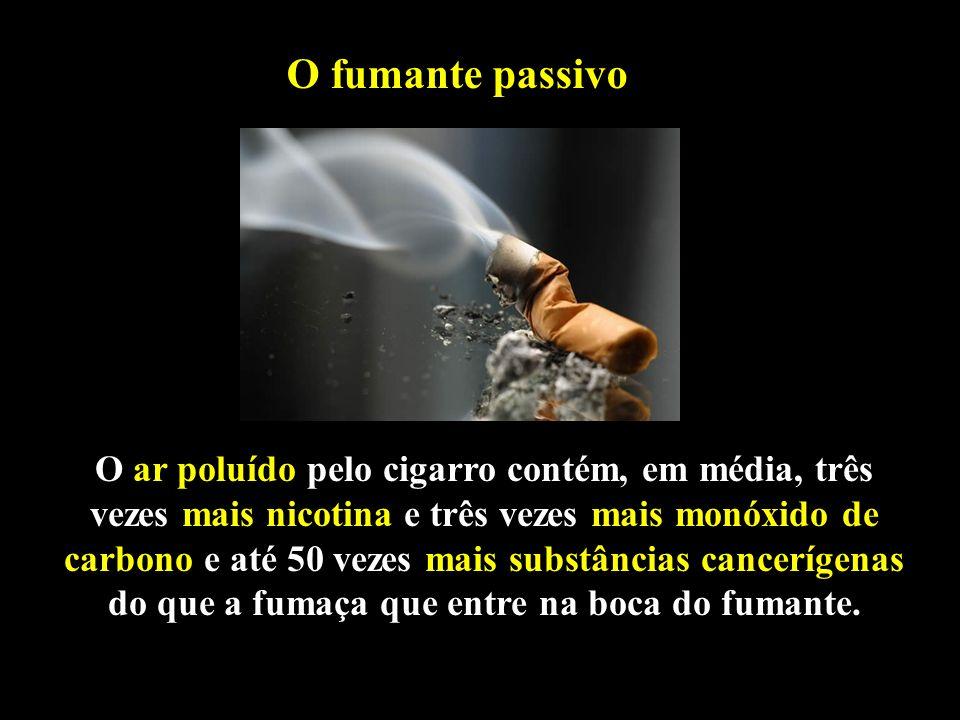 O fumante passivo