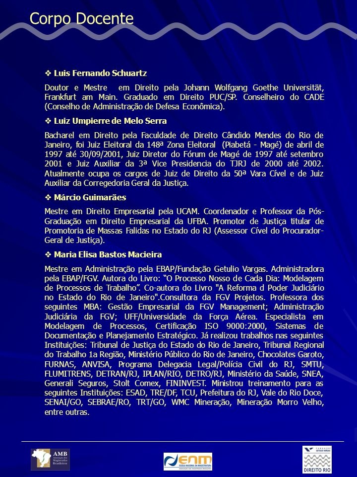 Corpo Docente Luis Fernando Schuartz