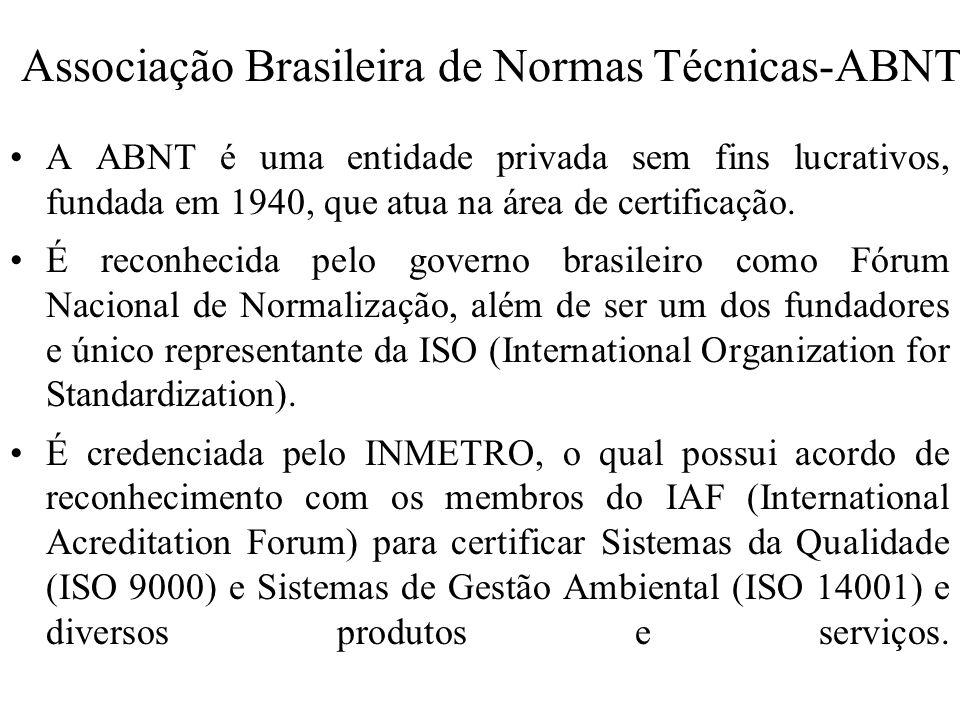 Associação Brasileira de Normas Técnicas-ABNT